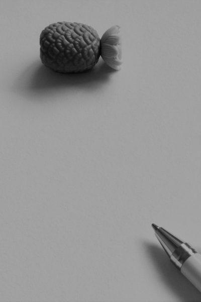 ananassen zwart wit